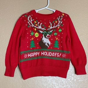 Well Worn Holiday Sweater